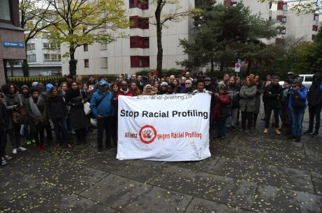 The Allianz gegen Racial Profiling (Alliance Against Racial Profiling) in Zurich via Facebook.